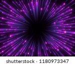 3d render  big bang  galaxy ... | Shutterstock . vector #1180973347