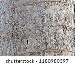 details of trajan's column. it... | Shutterstock . vector #1180980397