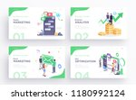 presentation slide templates or ... | Shutterstock .eps vector #1180992124