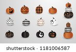 big set of realistic vector... | Shutterstock .eps vector #1181006587
