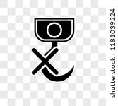 no hooks vector icon isolated...   Shutterstock .eps vector #1181039224