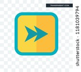 fast forward vector icon... | Shutterstock .eps vector #1181039794