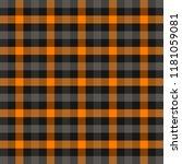 halloween tartan plaid.... | Shutterstock .eps vector #1181059081
