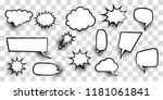 announces sketch idea... | Shutterstock .eps vector #1181061841