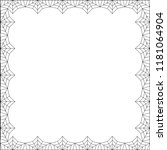 vector elegant rectangle black...   Shutterstock .eps vector #1181064904