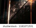 fumes in shadows  windows. | Shutterstock . vector #1181071531