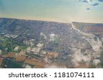 aerial view of the beautiful...   Shutterstock . vector #1181074111