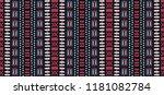 tribal vector ornament.... | Shutterstock .eps vector #1181082784