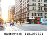 new york city   june  2018 ... | Shutterstock . vector #1181093821