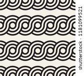 vector seamless rounded... | Shutterstock .eps vector #1181099521