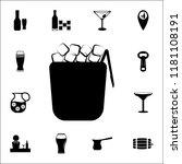 ice crockery icon. bar icons... | Shutterstock .eps vector #1181108191