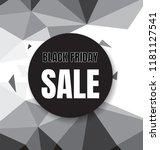 black friday sale flyer or... | Shutterstock .eps vector #1181127541