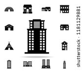 office building  icon. house... | Shutterstock .eps vector #1181129881