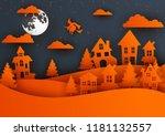 Paper Art Of Happy Halloween...