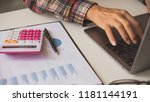 business and finance investment ... | Shutterstock . vector #1181144191