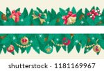 christmas banners with place... | Shutterstock .eps vector #1181169967