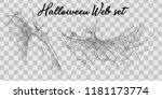 vector illustration halloween... | Shutterstock .eps vector #1181173774