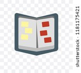 album vector icon isolated on... | Shutterstock .eps vector #1181175421