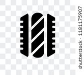 hotdog vector icon isolated on... | Shutterstock .eps vector #1181175907