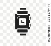 smartwatch vector icon isolated ... | Shutterstock .eps vector #1181179444