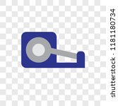adhesive tape vector icon... | Shutterstock .eps vector #1181180734