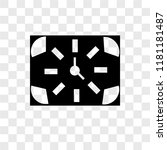 quarter vector icon isolated on ...   Shutterstock .eps vector #1181181487