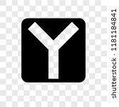 intersection vector icon... | Shutterstock .eps vector #1181184841