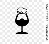 pint of beer vector icon... | Shutterstock .eps vector #1181184901