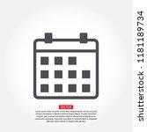 vector icon calendar 10 eps