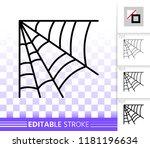corner web thin line icon....   Shutterstock .eps vector #1181196634