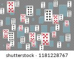 casino playing cards are... | Shutterstock .eps vector #1181228767