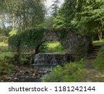 Granite Foot Bridge Over A...