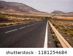 long way straight road in the... | Shutterstock . vector #1181254684