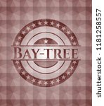 bay tree red seamless geometric ...   Shutterstock .eps vector #1181258557