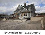 new york   october 31 destroyed ... | Shutterstock . vector #118129849