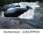 upstream river of haew su wat... | Shutterstock . vector #1181299924
