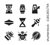 beat icon. 9 beat vector icons... | Shutterstock .eps vector #1181301754
