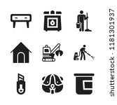 domestic icon. 9 domestic... | Shutterstock .eps vector #1181301937