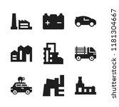 automotive icon. 9 automotive...   Shutterstock .eps vector #1181304667