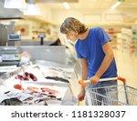 Man Shopping For Fresh Fish...