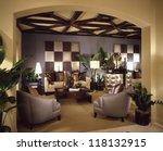 beautiful living room... | Shutterstock . vector #118132915
