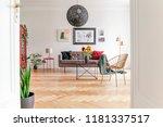 view through an open door into... | Shutterstock . vector #1181337517
