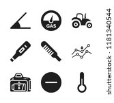 low icon. 9 low vector icons... | Shutterstock .eps vector #1181340544