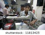 Young Boy Working In Delhi...