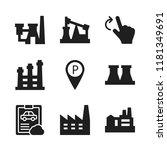automotive icon. 9 automotive...   Shutterstock .eps vector #1181349691