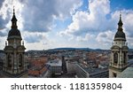 view from st. stephen's... | Shutterstock . vector #1181359804