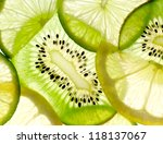 Lime  Lemon  Kiwi  Slices