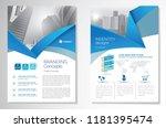 template vector design for... | Shutterstock .eps vector #1181395474