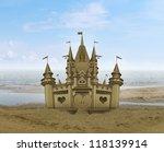 Sandcastle Sculpture Sand Art...