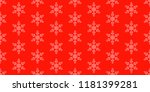 seamless christmas holidays... | Shutterstock . vector #1181399281